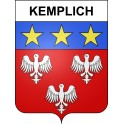 Stickers coat of arms Kemplich adhesive sticker