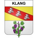 Stickers coat of arms Klang adhesive sticker