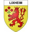 Stickers coat of arms Lixheim adhesive sticker