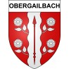 Stickers coat of arms Obergailbach adhesive sticker