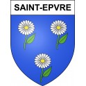 Stickers coat of arms Saint-Epvre adhesive sticker