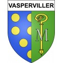Stickers coat of arms Vasperviller adhesive sticker