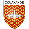 Stickers coat of arms Xouaxange adhesive sticker
