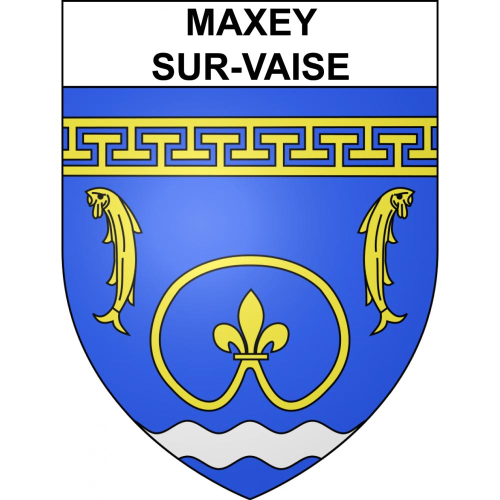 Stickers coat of arms Maxey-sur-Vaise adhesive sticker