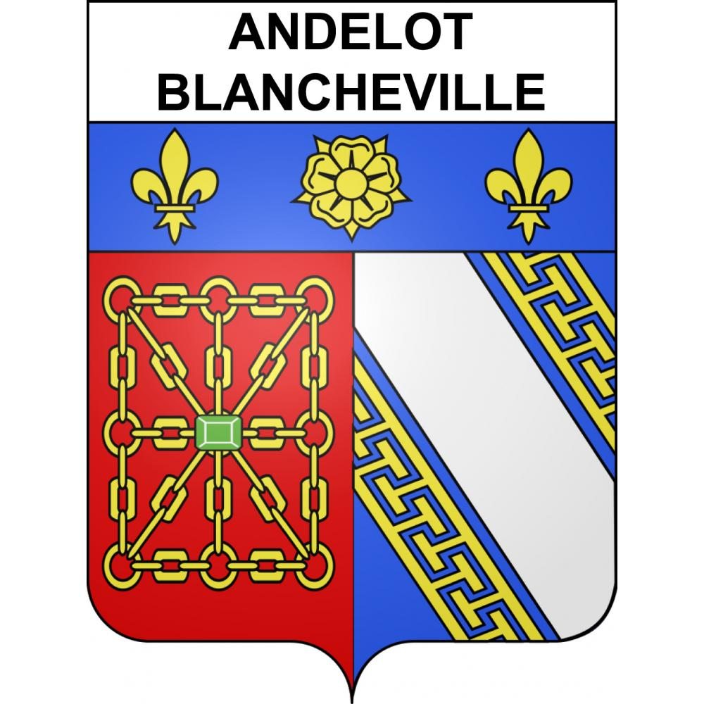 Stickers coat of arms Andelot-Blancheville adhesive sticker