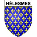 Stickers coat of arms Hélesmes adhesive sticker