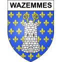 Stickers coat of arms Wazemmes adhesive sticker