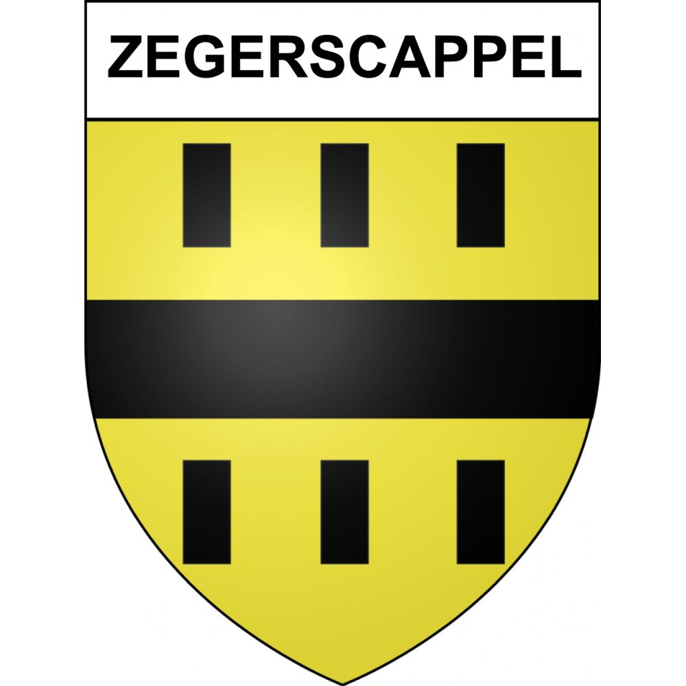 Stickers coat of arms Zegerscappel adhesive sticker