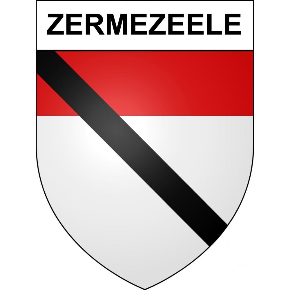 Stickers coat of arms Zermezeele adhesive sticker