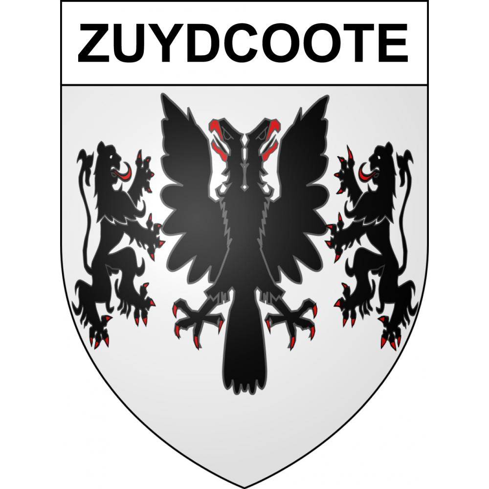 Stickers coat of arms Zuydcoote adhesive sticker
