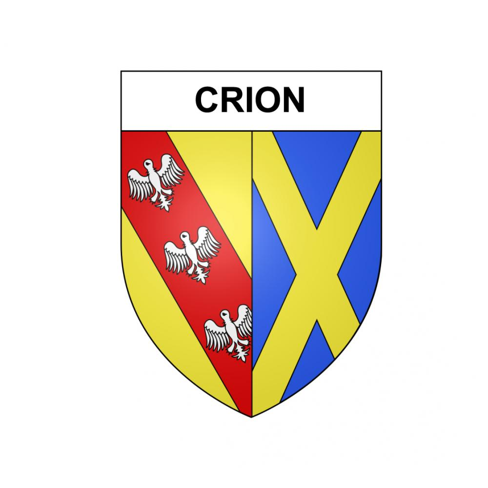 Stickers coat of arms Crion adhesive sticker
