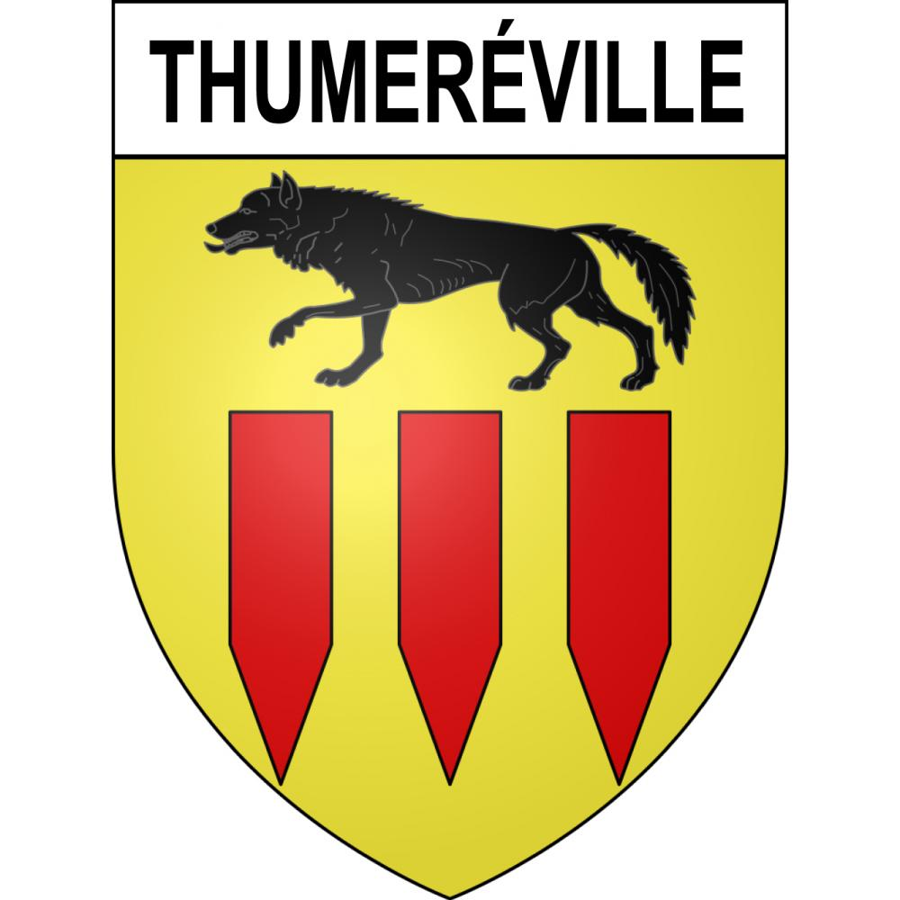 Stickers coat of arms Thumeréville adhesive sticker