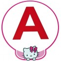 A jeune conducteur apprenti autocollant adhésif Hello Kitty