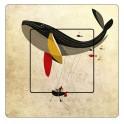 Stickers baleine sticker autocollant interrupteur