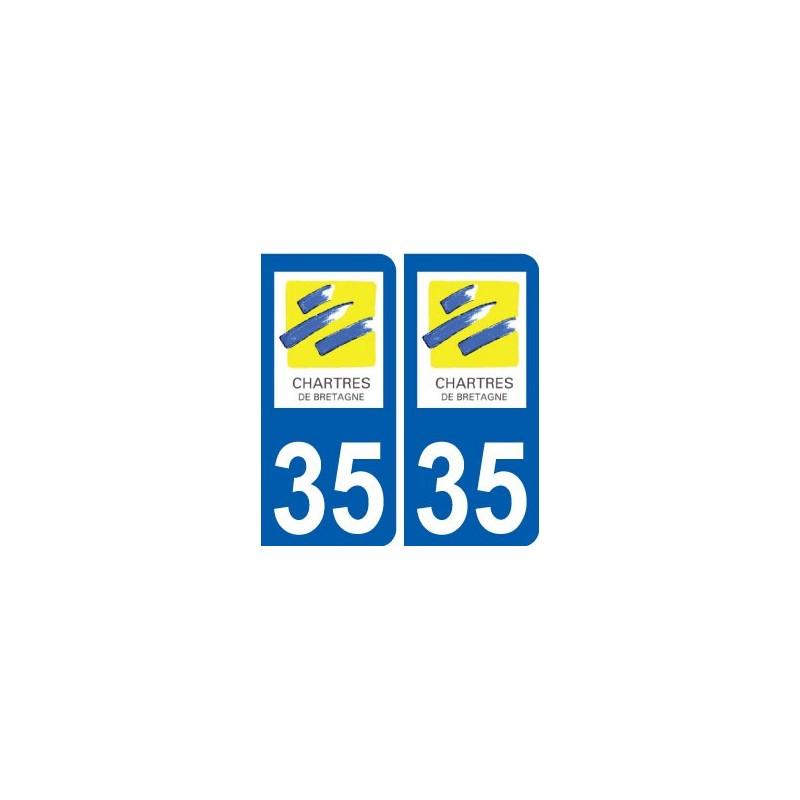 35 chartres de bretagne logo blason autocollant plaque for Chartres de bretagne piscine