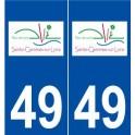 49 Sainte-Gemmes-sur-Loire logo sticker plate stickers city
