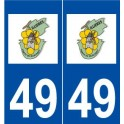 49 Tillières-sur-Avre logo sticker plate stickers city