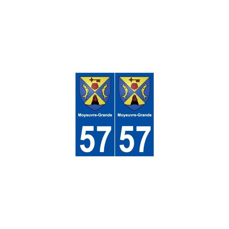 57 moyeuvre grande blason autocollant plaque immatriculation stickers. Black Bedroom Furniture Sets. Home Design Ideas