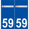 59 Hem logo sticker plate stickers city
