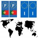 Country-Europe World Flags F various