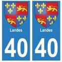 40 Landes city