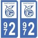 972 Martinique ville
