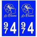 974 La Reunion city