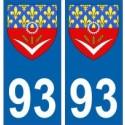 93 Seine Saint Denis ville