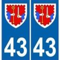 43 Haute-Loire towns
