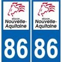 86 Vienne sticker