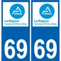 69 Rhone sticker