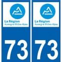 73 Savoie sticker