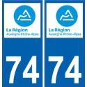 74 Haute-Savoie sticker