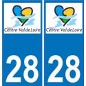 28 Eure et Loir sticker