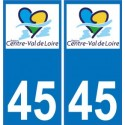 45 Loiret sticker