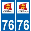 76 Seine-Maritime sticker