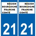 21 Cote d'or sticker