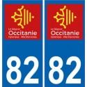 82 Tarn-et-Garonne sticker